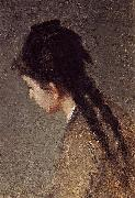 Eva Gonzales Portrait of Jeanne Gonzales in Profile china oil painting reproduction