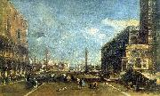 Francesco Guardi Little Square of St. Marcus china oil painting reproduction