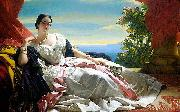 Franz Xaver Winterhalter Princess of Sayn-Wittgenstein china oil painting reproduction