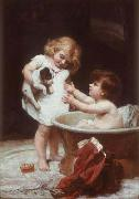Frederick Morgan His tun next china oil painting reproduction