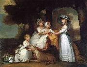 Gilbert Stuart The Children of the Second Duke of Northumberland china oil painting reproduction