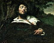 Gustave Courbet Wounded Man china oil painting reproduction