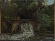 Gustave Courbet Le Grand Pont china oil painting reproduction
