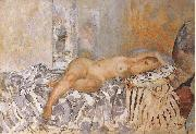 Henri Lebasque Prints Nude on Spanish Blanket china oil painting reproduction