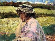 James Carroll Beckwith Lost in Thought china oil painting reproduction