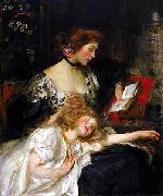 James Jebusa Shannon Mother and Child china oil painting reproduction