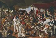 Johann Zoffany A Cockfight in Lucknow china oil painting reproduction