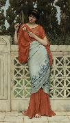 John William Godward He Loves Me He Loves Me Not china oil painting reproduction
