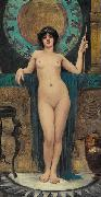 John William Godward Study of Campaspe china oil painting reproduction