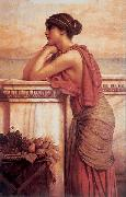 John William Godward By the Wayside china oil painting reproduction