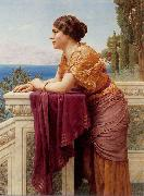 John William Godward Belvedere china oil painting reproduction
