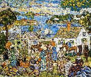 Maurice Prendergast New England Harbor china oil painting reproduction