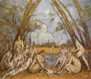 Paul Cezanne Badende oil painting picture wholesale