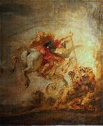 Peter Paul Rubens Bellerophon, Pegasus and Chimera oil painting picture wholesale
