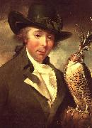 Philip Reinagle Man with Falcon china oil painting reproduction