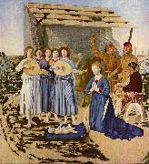 Piero della Francesca Geburt Christi china oil painting reproduction