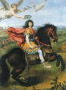 Pierre Mignard Louis XIV of France riding a horse china oil painting reproduction