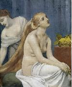 Pierre Puvis de Chavannes Toilette china oil painting reproduction