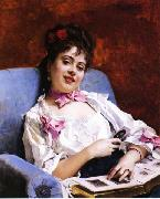 Raimundo Madrazo Fond Memories china oil painting reproduction