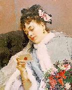 Raimundo Madrazo The Love Letter china oil painting reproduction