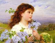 Sophie Gengembre Anderson The Time Of The Lilacs china oil painting reproduction