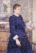 Theo Van Rysselberghe Anna Boch in her Atelier china oil painting reproduction