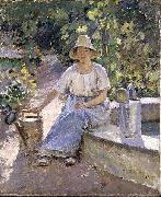 Theodore Robinson Watering Pots china oil painting reproduction