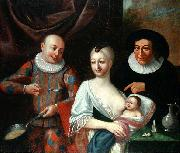 VIVARINI, family of painters Mother and child with Harlequin china oil painting reproduction