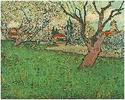 Vincent Van Gogh View of Arles with flowering trees oil painting picture wholesale