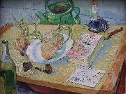 Vincent Van Gogh Still life with a plate of onions oil painting picture wholesale