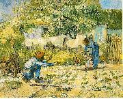 Vincent Van Gogh First Steps oil painting picture wholesale
