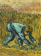 Vincent Van Gogh Reaper with Sickle oil painting picture wholesale