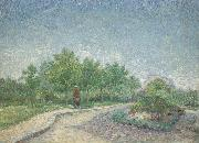 Vincent Van Gogh Corner in Voyer-d'Argenson Park at Asnieres oil painting picture wholesale