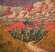 konrad magi Road from Viljandi to Tartu oil painting picture wholesale
