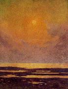 unknow artist Sunset on the Coast china oil painting reproduction