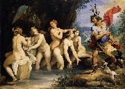 unknow artist Diana and Actaeon oil painting picture wholesale