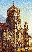 unknow artist Berlin-Synagoge in der Oranienburger Strabe china oil painting reproduction