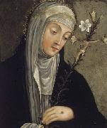 unknow artist St Catherine of Siena china oil painting reproduction