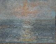 unknow artist Sunset at sea china oil painting reproduction