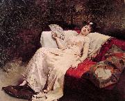 unknow artist Reclining Lady china oil painting reproduction