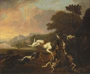 Abraham Hondius The Deer Hunt oil