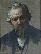 Alphonse Legros Professor John Marshall, FRS (1818-1891), Surgeon oil
