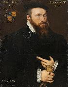 Anthonis Mor Portrait of a Gentleman oil