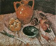 Paula Modersohn-Becker Still life with yellow jug oil painting picture wholesale
