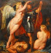Peter Paul Rubens Crowning of the Hero oil painting picture wholesale