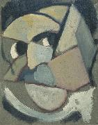 Theo van Doesburg Abstract portrait. oil painting picture wholesale