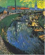 Vincent Van Gogh The channel oil painting picture wholesale