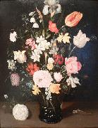 Ambrosius Bosschaert Flowers in a glass vase oil painting picture wholesale