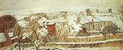 Camille Pissarro Winter oil painting picture wholesale