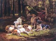 Carlo Saraceni Dogs oil painting picture wholesale